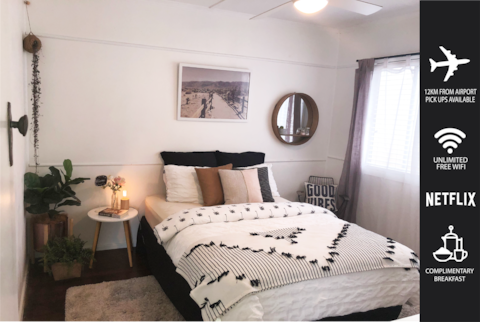 Large room,12km airport,7km to Brisbane,Colmslie