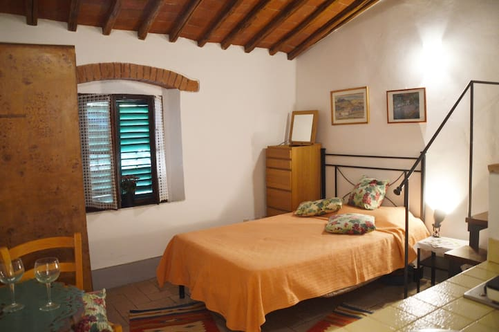 Camera singola con bagno Gaiole in Chianti