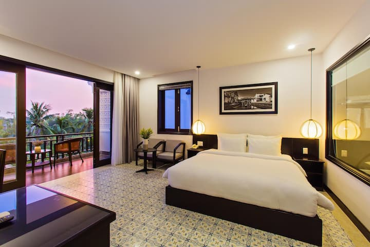 Fanciest Double Or Twin Deluxe River View At Hoi An