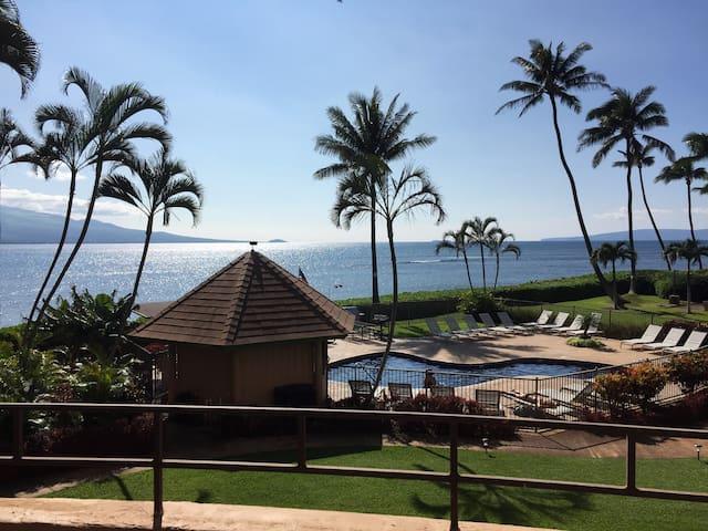 Island treasure, ocean front Maui - Wailuku