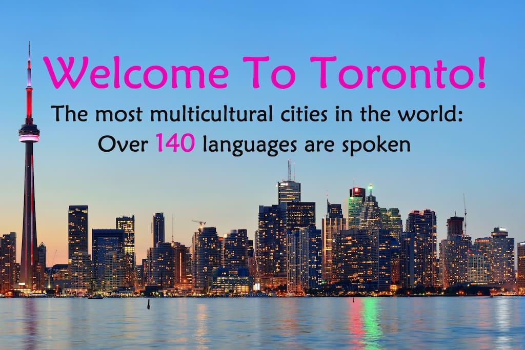 Welcome to Toronto!