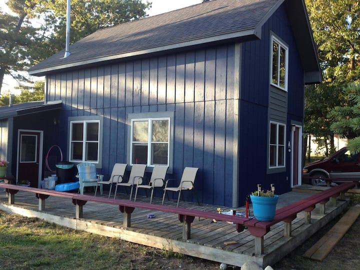 Freesoil Blue House