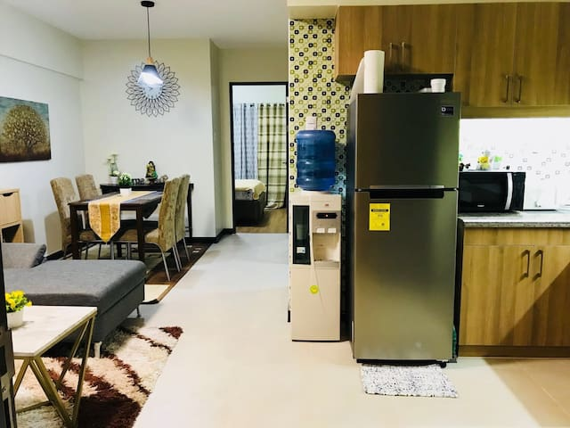 Living, Dining, Hallway and Kitchen Area (All-In-One)