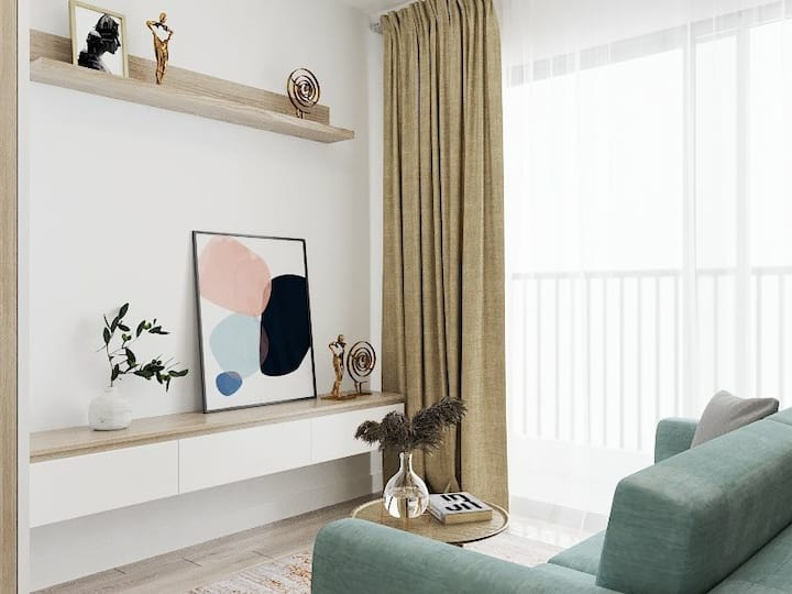 Bancông House 6.2- Balcony House- Netflix TV