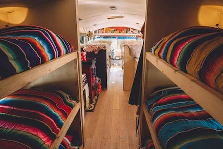 The adventure hostel on wheels: The Nomads Bus - Neustift im Stubaital