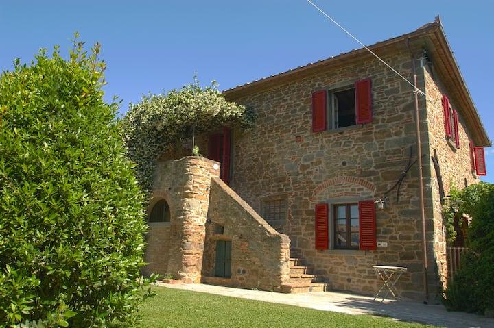 Villa il Giuggiolo,  Cosy farmhouse in Tuscany