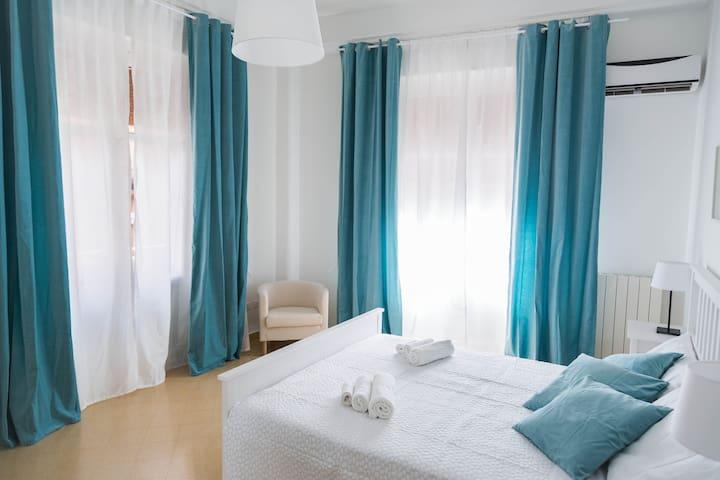 Accogliente e confortevole camera in pieno centro