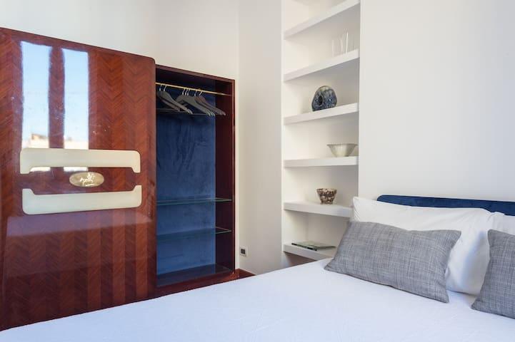 Bedroom n. 3 with design wardrobe