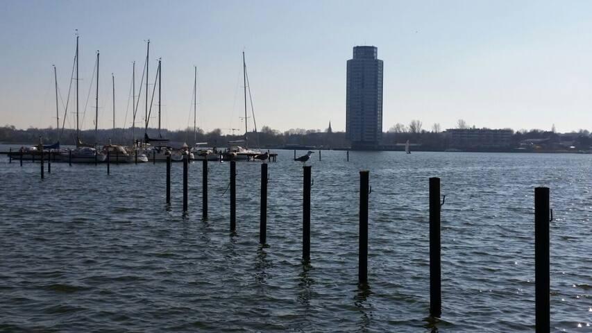Wikingturm in Schleswig an der der Schlei