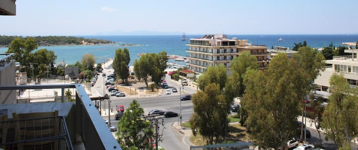 Exclusive Apartment in Glyfada Center, 1' to Beach
