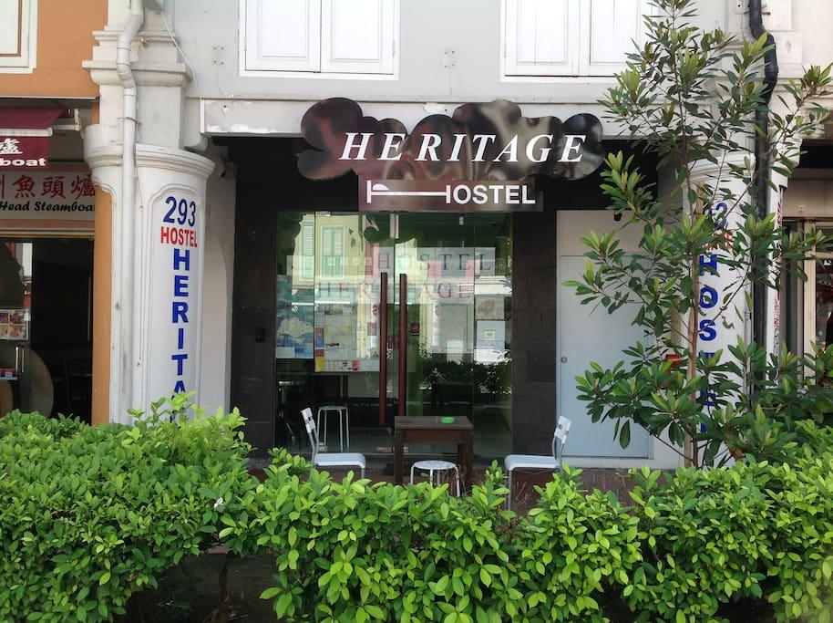 Heritage Hostel @Chinatown
