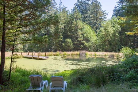 Rustic Cottage, Redwoods, Beaches - Los Gatos - Cabaña