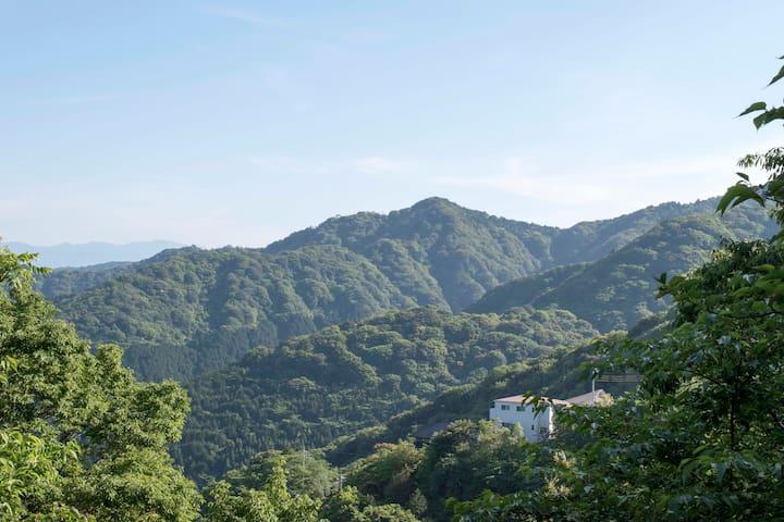Mountain view cottage, real onsen! - Atami - Villa