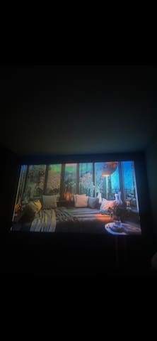 In-home movie theater/relaxation getaway