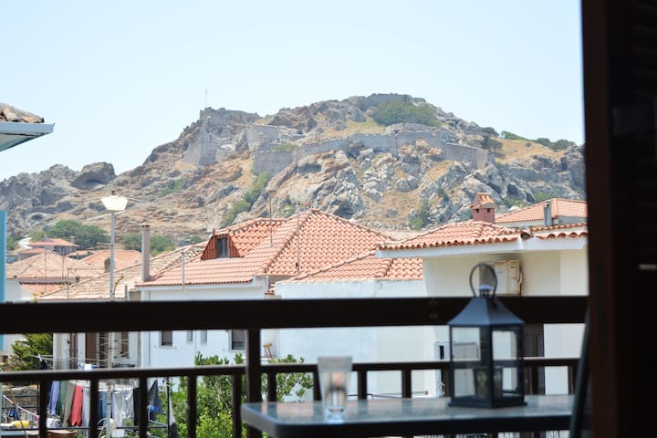 House with Kastro view