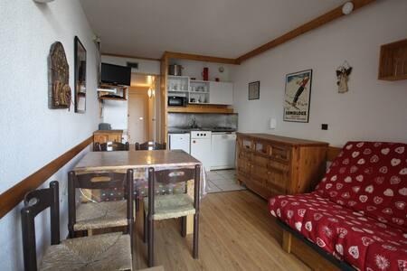 Appartement tout confort, skis aux pieds, Arc 2000