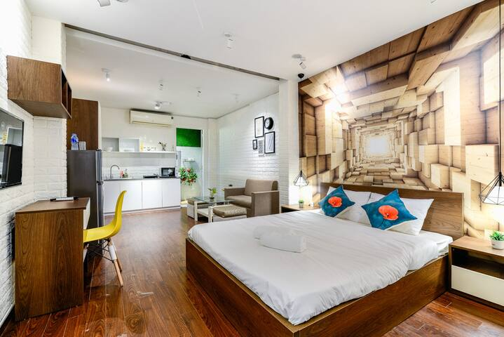 BenThanh Market 2min walk⭐Fully equipped StudioM1