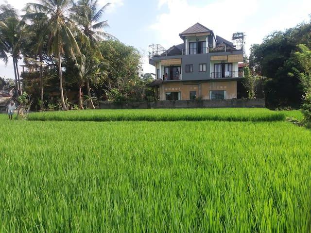 Harmony & Comfort @Puri Taksu~1BR Rice Paddy View!
