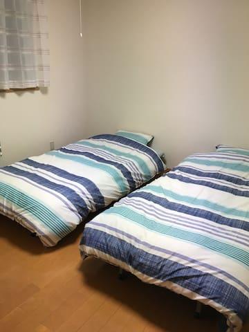 ファミリー大歓迎!2LDKの部屋です。築5年のきれいな部屋です。 - Asahikawa - Lejlighed
