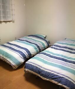 ファミリー大歓迎!2LDKアパート、築5年のきれいな部屋です。 - Lägenhet