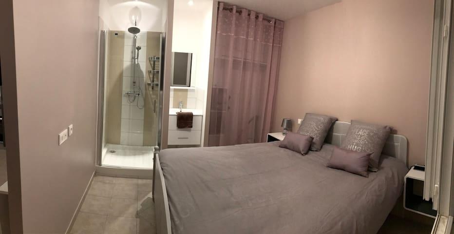 Location appartement meublé 24m² Vals-les-bains - Vals-les-Bains - Huoneisto
