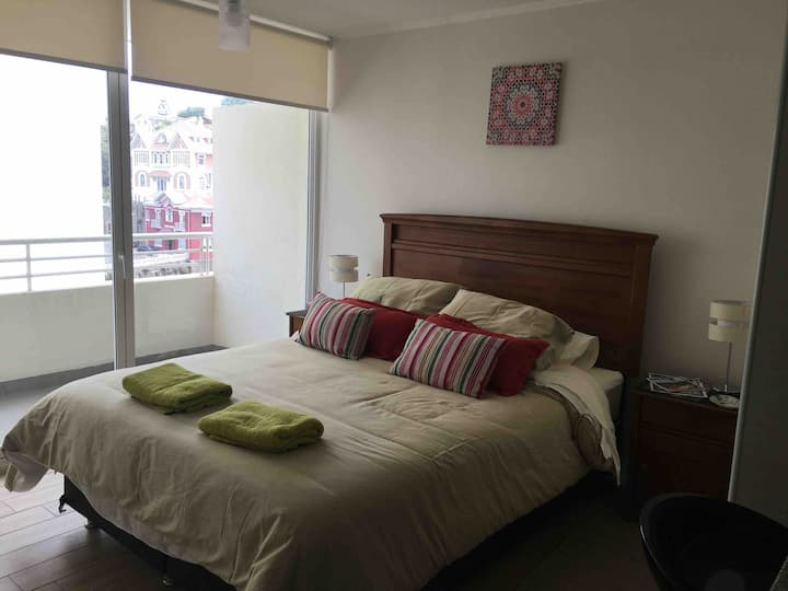 TIPOESTUDIO Ideal para parejas Centro Viña del Mar