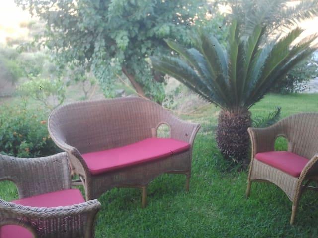 appartamento in villa(MILAZZO  EOLIE SICILY)