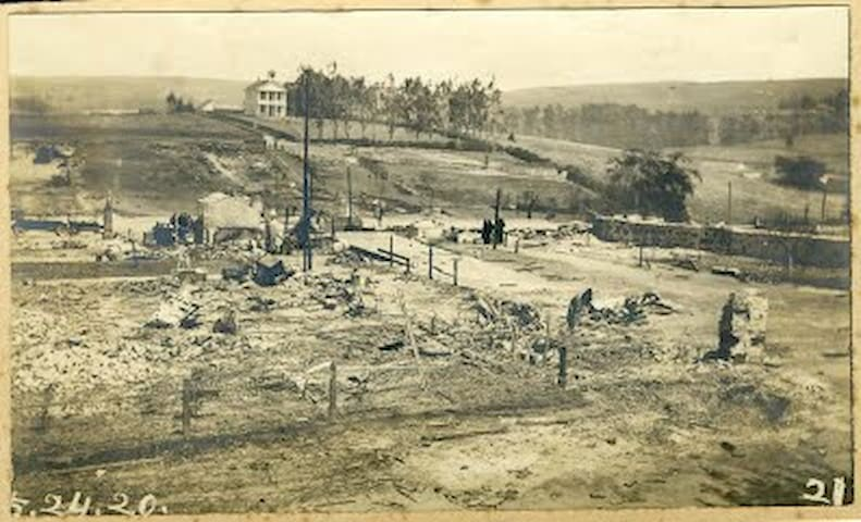 The original Tell was lost in The Great Tomales Fire of 1920