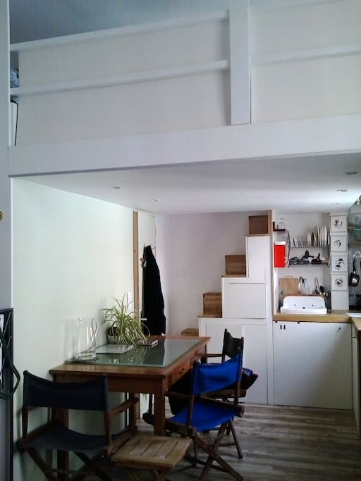 Mini loft atelier d 39 artiste lofts louer paris le de france france - Location atelier artiste paris ...