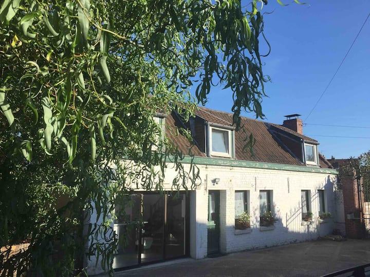 Cottage dans la campagne proche de Lille