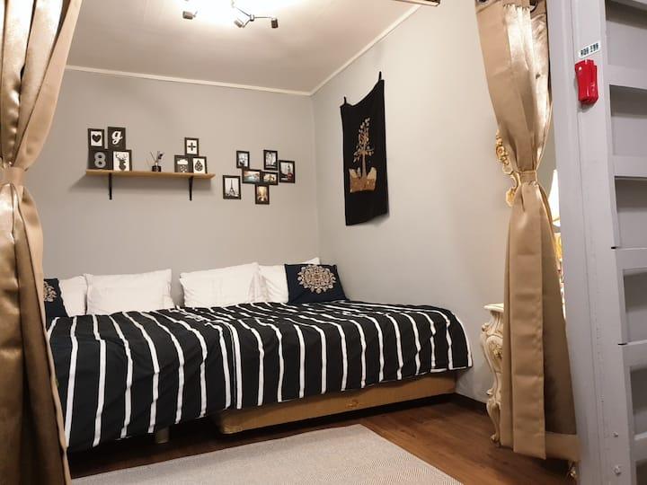 New open #1 Paul House: Cozy place / 3mins STN