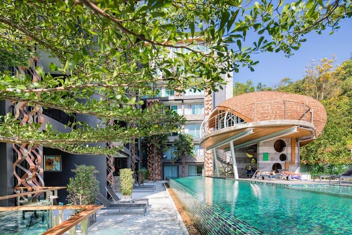 Elegant & Stylish 1 Bedroom apartment @Patong