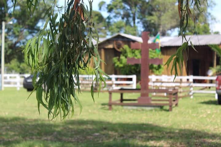 Casa campo inteira Sítio Missioneiro Rancho Velho
