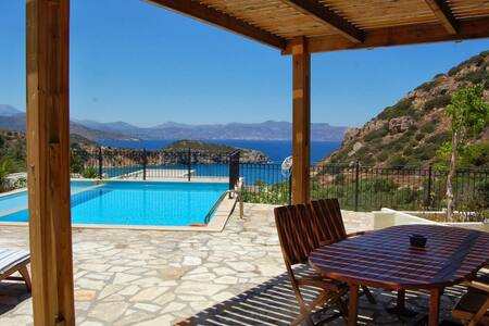 Deluxe maisonette Ouranos with wonderful sea view - Lasithi - 别墅
