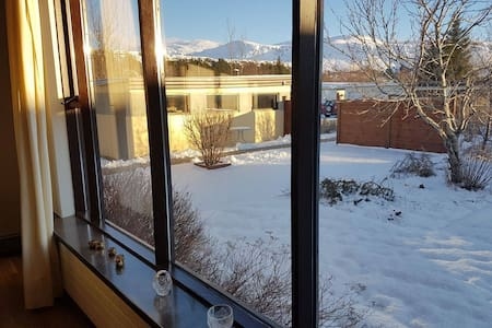 Spacious House in a hot spring town - Hveragerði - Casa