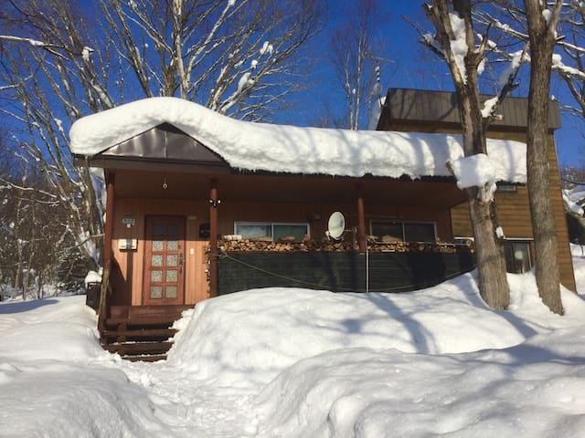 Cozy cabin near backcountry areas and ski resorts