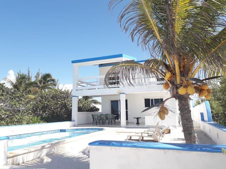 Beach house san benito progreso yucatan