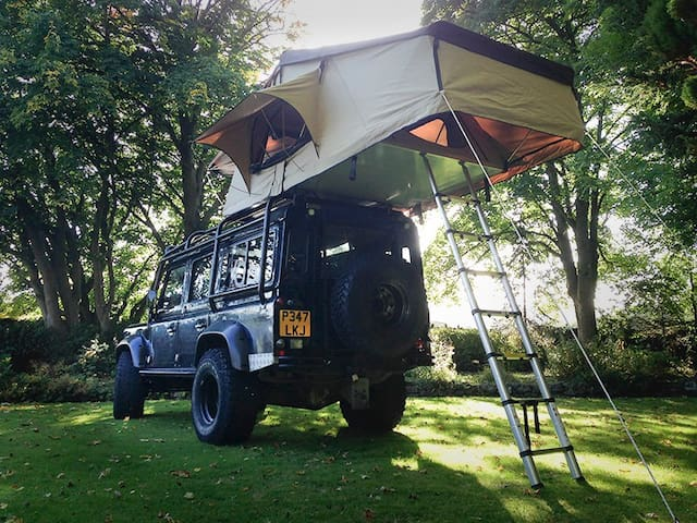 Roof Tent Expedition Land Rover Defender - Hope - Karavan/RV