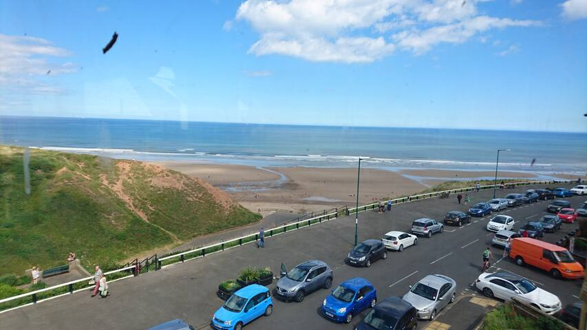 Ideally located sea front apartment - Saltburn-by-the-Sea - Apartemen