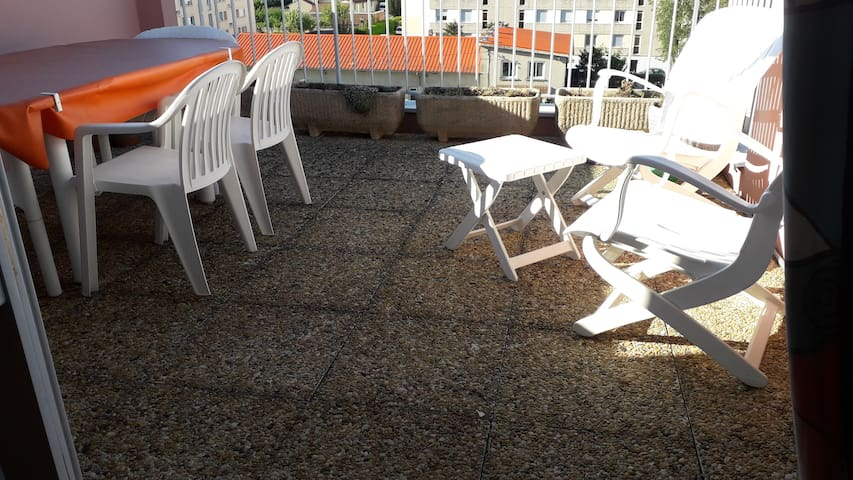 Terrasse salon