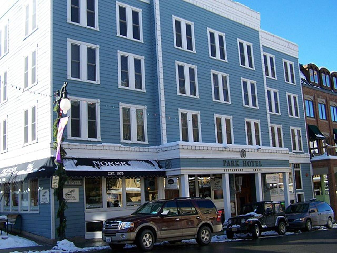 Park Hotel in the heart of Main Street, Park City Utah