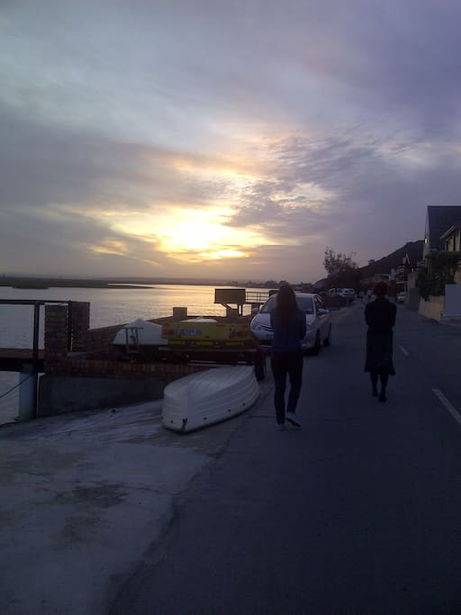 sunset walks alone or with loved ones are just the best