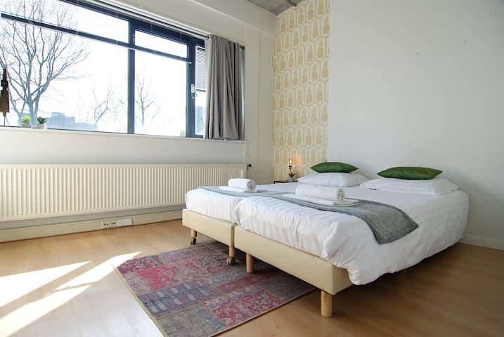 Great room for two near Amstel river Amsterdam south/east