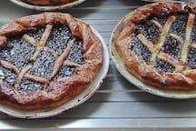 Spécialité de l'ile tarte aux pruneaux