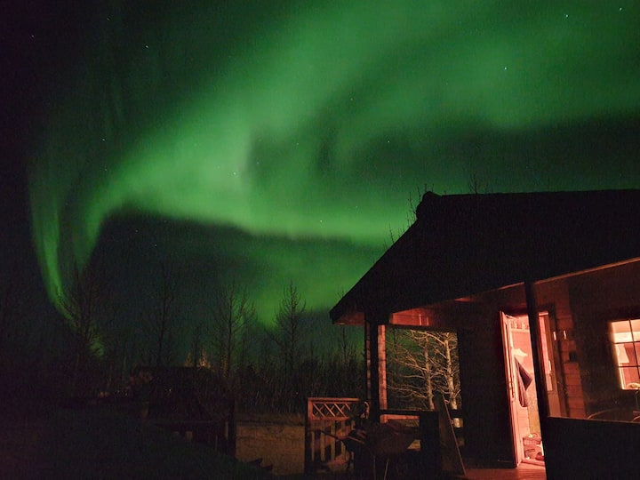Five stars ***** Perfect for aurora watching