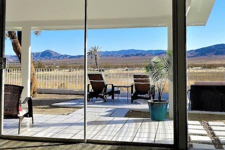 Purple Ocotillo Desert View Home