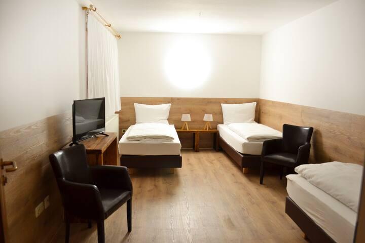 3-Bett-Zimmer im Forest