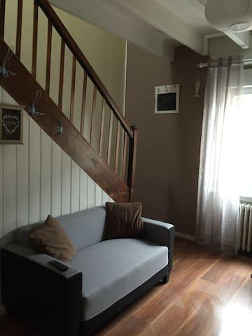 appartement duplex, cuisine equipée - Pordic - Appartement