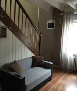 appartement duplex, cuisine equipée - Pordic