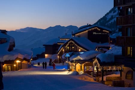 Beautiful, spacious ski apartment - Aime